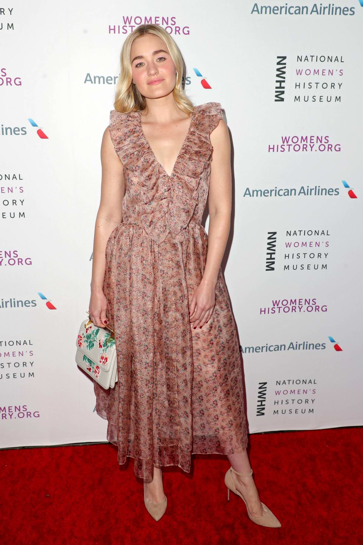 AJ Michalka attends the National Women's History Museum Women Making History Awards in Los Angeles