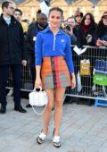 Alicia Vikander attends the Louis Vuitton fashion show, F/W 2020 during Paris Fashion Week in Paris, France