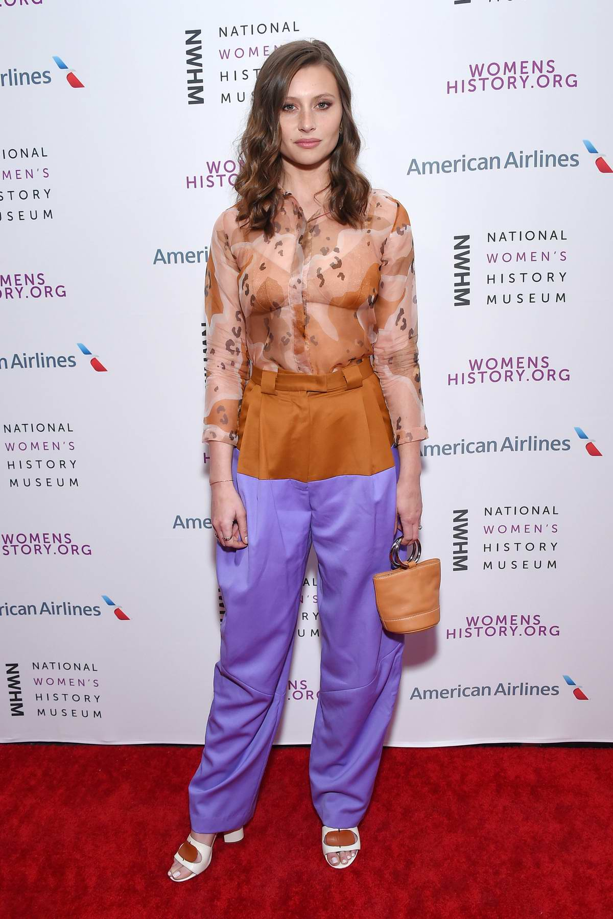 Aly Michalka attends the National Women's History Museum Women Making History Awards in Los Angeles