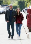 Ana de Armas and Ben Affleck look all loved-up while out on a romantic stroll in Los Angeles