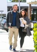 Ana De Armas and Ben Affleck look happy as they step out together in Los Angeles