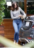 Ana de Armas keeps it casual as she steps out for lunch with friends in Malibu, California