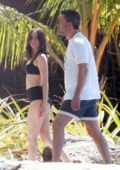 Ana de Armas spotted in a black bikini while enjoying a walk by the beach with Ben Affleck in Costa Rica