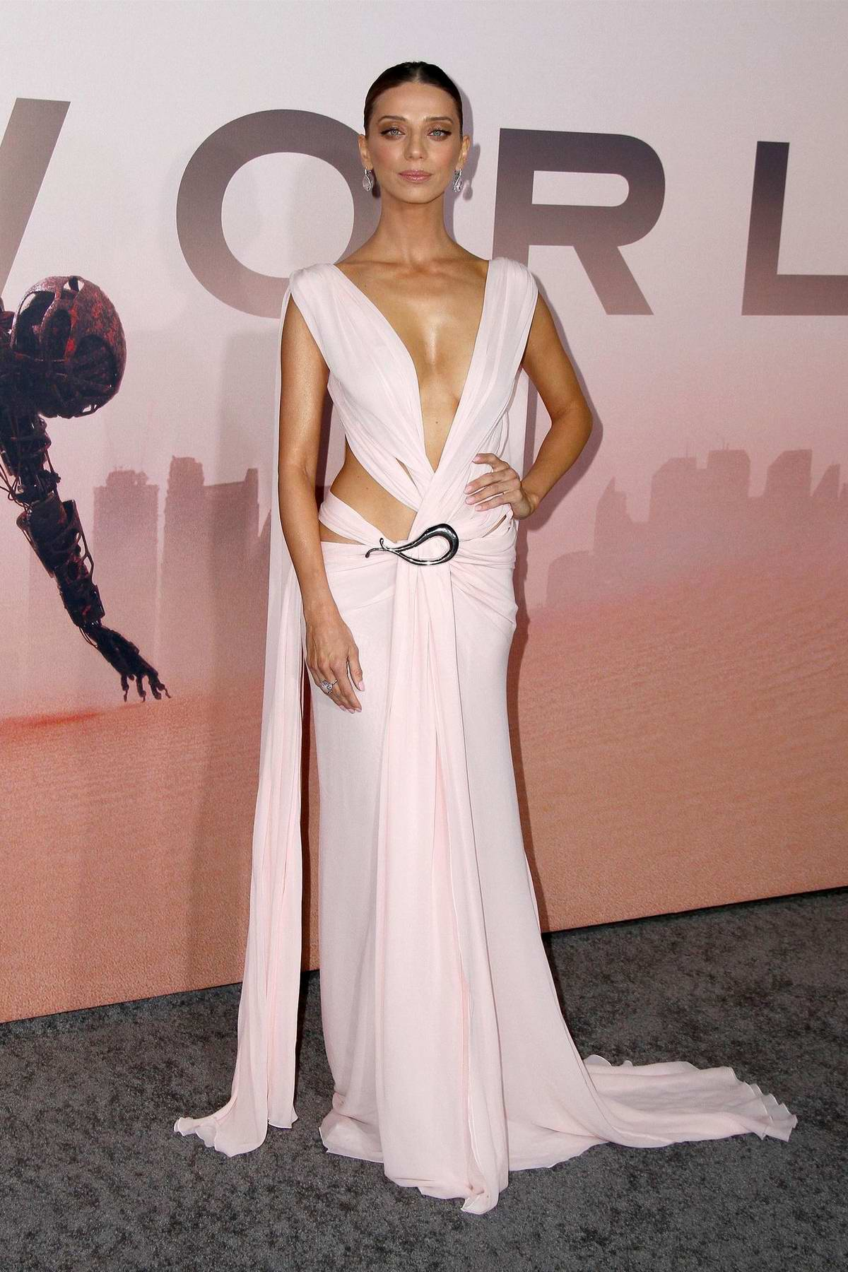 Angela Sarafyan attends the Premiere of 'Westworld', Season 3 in Hollywood, California