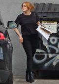 Ariel Winter and boyfriend Luke Benward seen leaving a studio amid citywide lockdown in Los Angeles