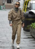 Ashley Roberts seen leaving Global Radio in London, UK