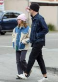 Ashley Tisdale and Christopher French leave empty-handed after long lines at Erewhon Market in Los Angeles