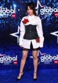 Camila Cabello attends The Global Awards 2020 at Eventim Apollo in London, UK