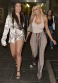 Chloe Ferry spotted during a night out with friends in Durham, UK