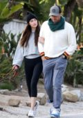 Dakota Johnson and Chris Martin step out for a romantic stroll in Malibu, California