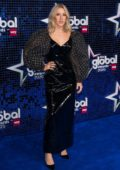 Ellie Goulding attends The Global Awards 2020 at Eventim Apollo in London, UK