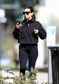 Eva Longoria enjoys a trip to a park with family in Beverly Hills, California