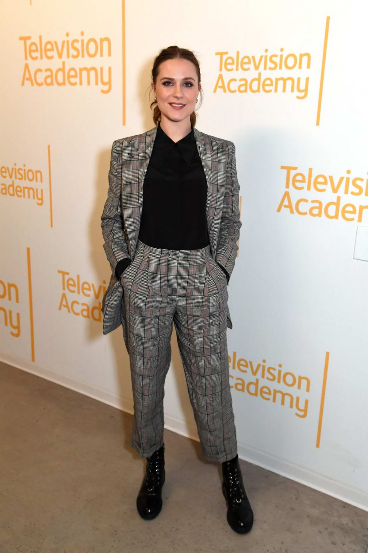 Evan Rachel Wood attends a screening and panel discussion of HBO series 'Westworld' in North Hollywood, California
