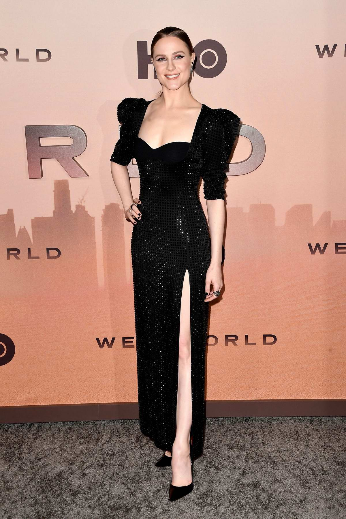 Evan Rachel Wood attends the Premiere of 'Westworld', Season 3 in Hollywood, California