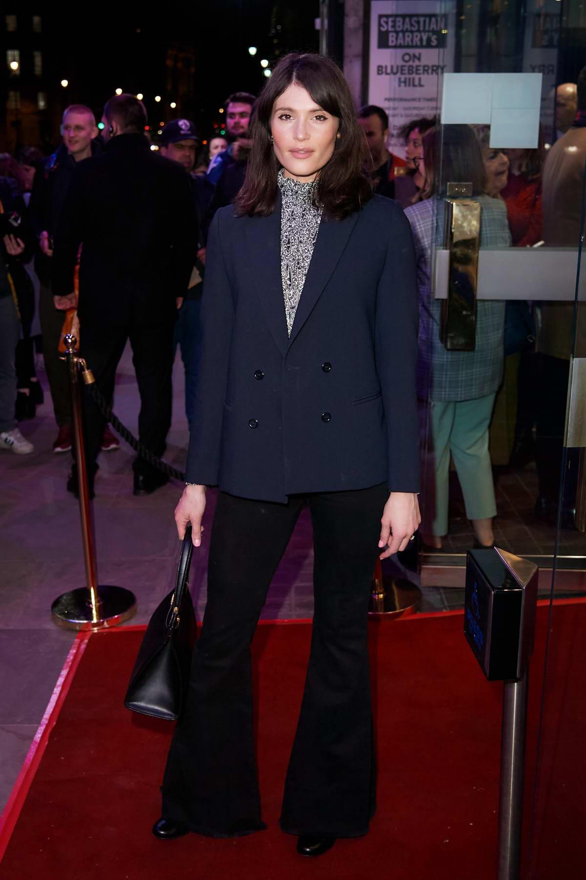 Gemma Arterton attends 'On Blueberry Hill' press night in London, UK