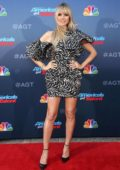 Heidi Klum attends the 'America's Got Talent' Season 15 Kickoff at Pasadena Civic Auditorium in Pasadena, California