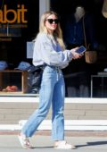 Hilary Duff steps out with Matthew Koma and kids for lunch at Joan's on Third in Studio City, California