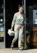 Ireland Baldwin dresses down in sweats as she stops by a liquor store in Los Angeles