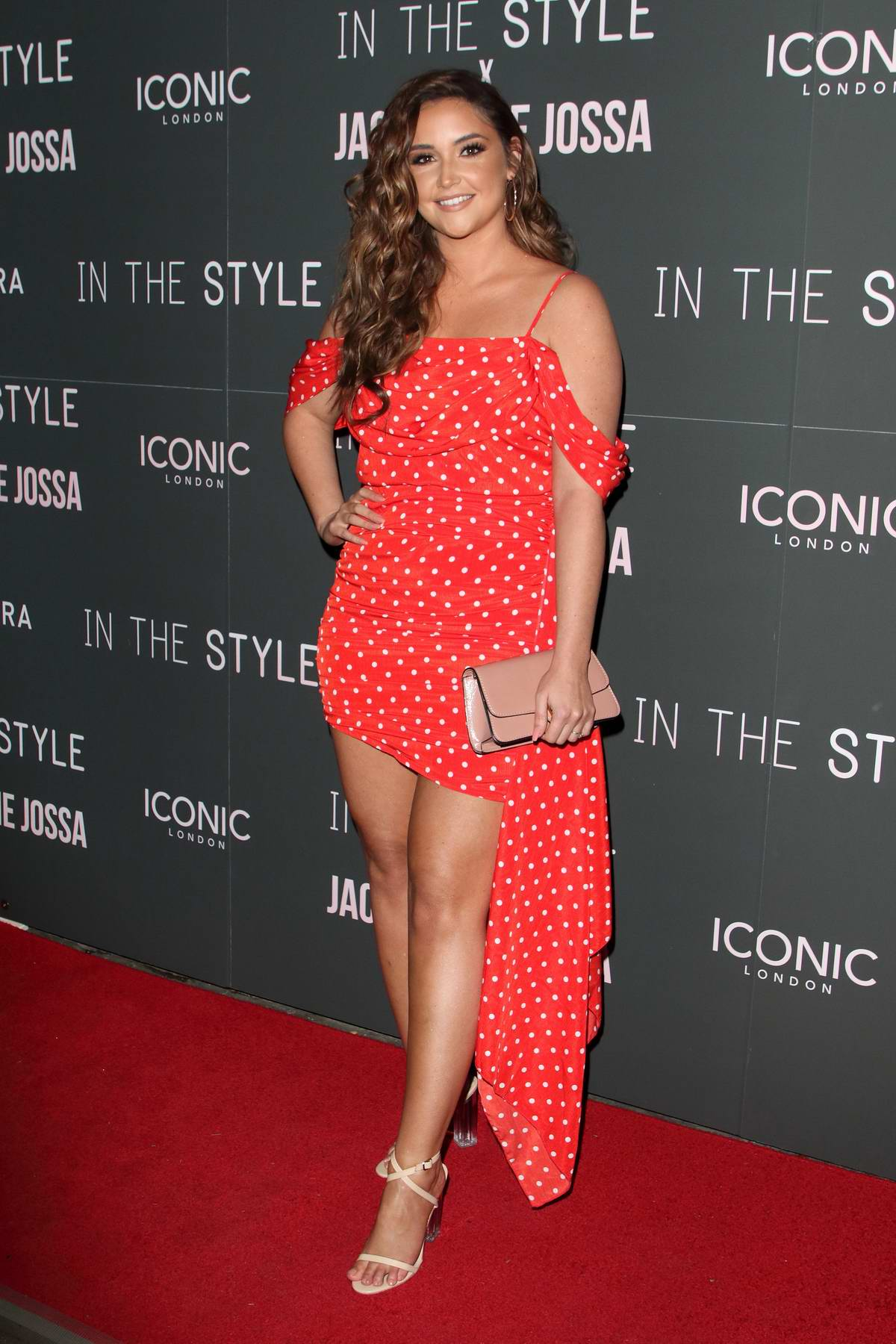 Jacqueline Jossa attends In The Style x Jacqueline Jossa Launch Party in London, UK