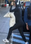 Katy Perry rushes to the airport after her 24hr lockdown at Park Hyatt hotel in Sydney, Australia