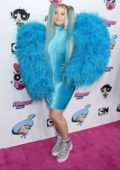 Meghan Trainor attends Christian Cowan x Powerpuff Girls Runway Show in Hollywood, California