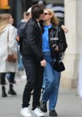 Nicola Peltz and Brooklyn Beckham pack on the PDA while out in New York City