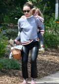 Olivia Wilde enjoys a fun day at the park with her daughter in Los Angeles