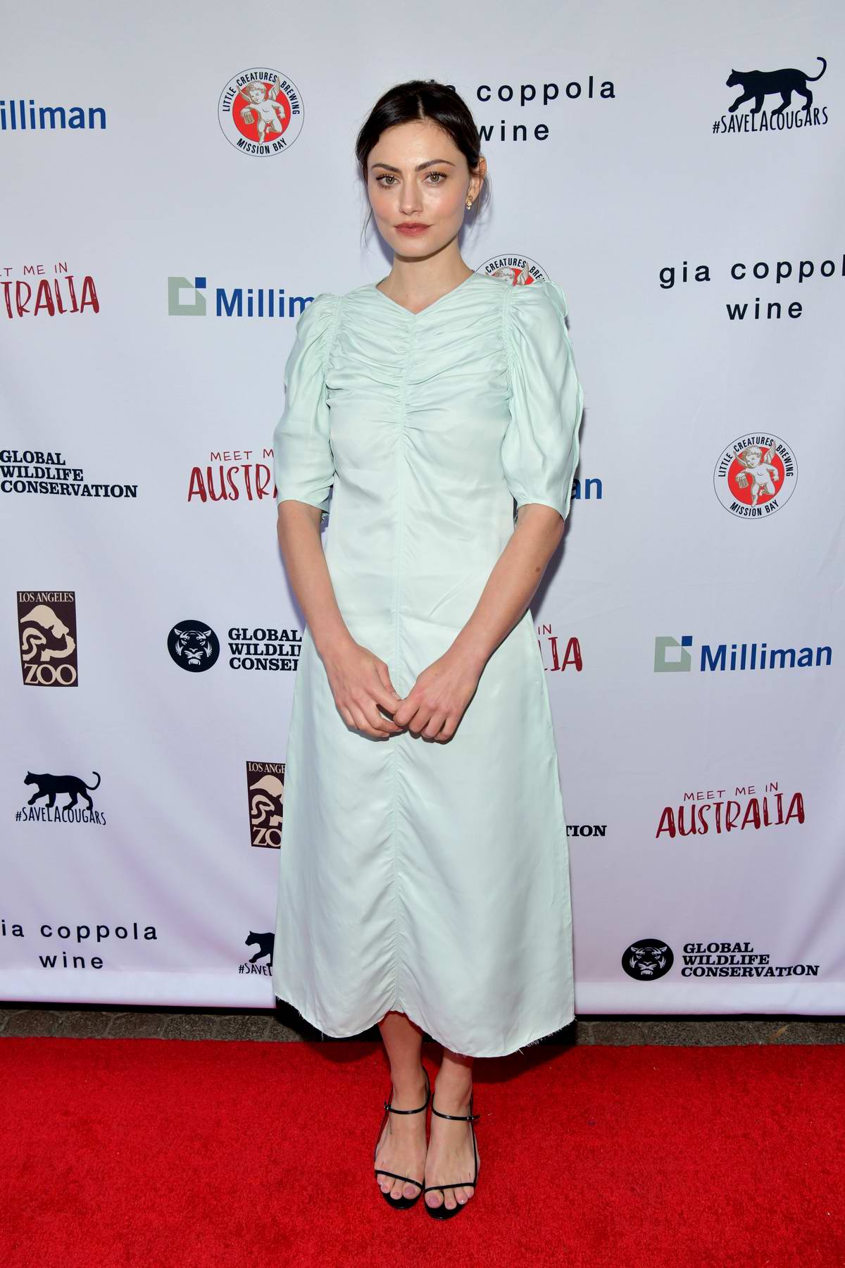 Phoebe Tonkin attends 'Meet Me In Australia' To Benefit Australia Wildfire Relief Efforts at Los Angeles Zoo, California