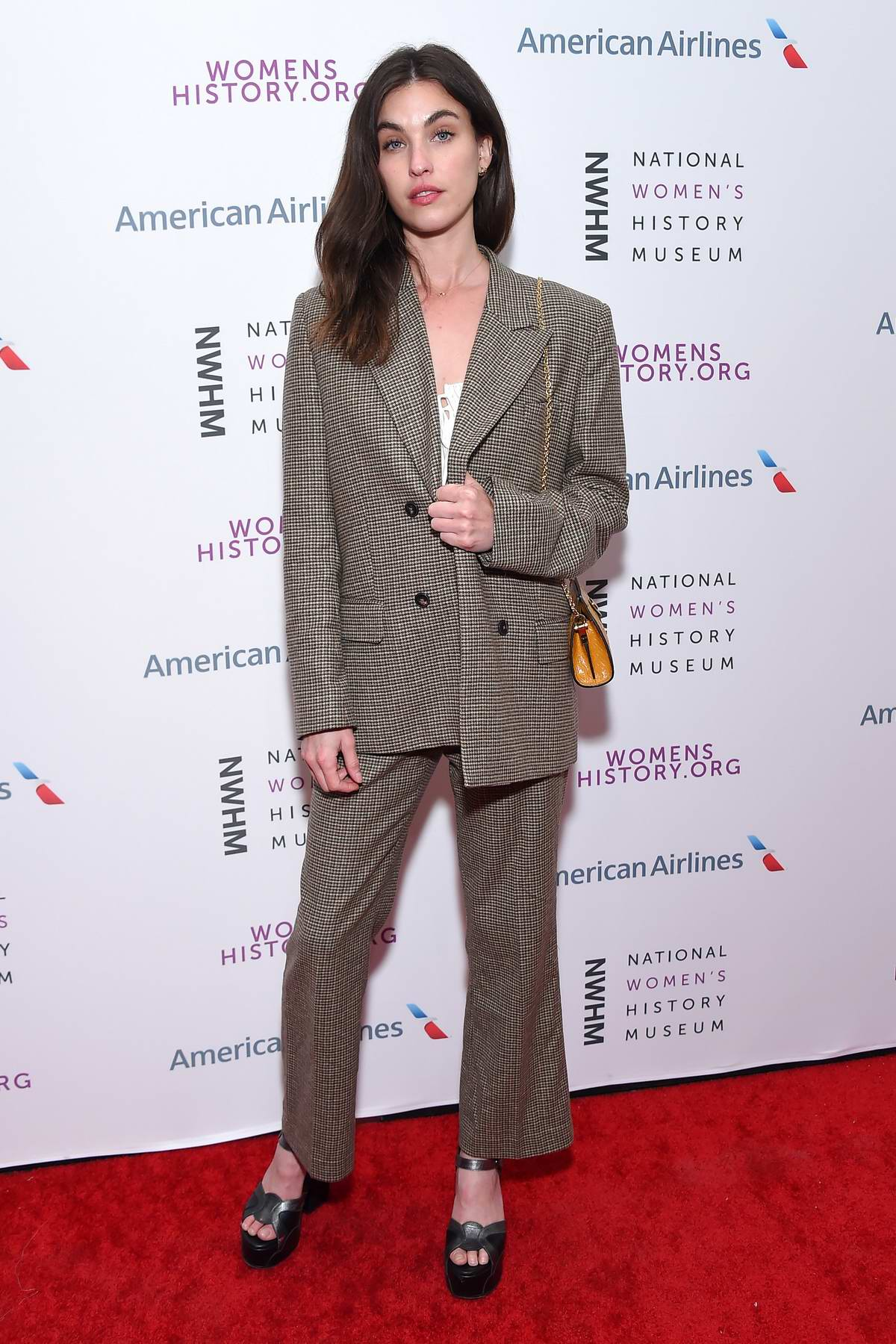 Rainey Qualley attends the National Women's History Museum's Women Making History Awards in Los Angeles