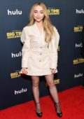 Sabrina Carpenter attends the Premiere of 'Big Time Adolescence' in New York City