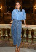 Shailene Woodley attends the Stella McCartney show, F/W 2020 during Paris Fashion Week in Paris, France