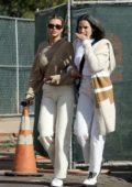 Sofia Richie grabs lunch with her Mom Diane Alexander at Tra Di Noi in Malibu, California
