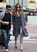Sofia Vergara keeps it fashionable as she arrives at America's Got Talent in Pasadena, California