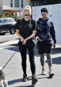 Sophie Turner and Joe Jonas stop by Petco with their dog in Studio City, California