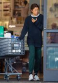 Zendaya goes shopping with her brother at Bed Bath & Beyond in Los Angeles