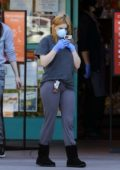 Ariel Winter keeps it casual as she stocks up on groceries at Gelson's in Los Angeles