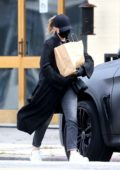 Chloe Grace Moretz stays super careful and low key while out for groceries in Studio City, California