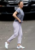 Jennifer Garner steps out in her PJ's in Pacific Palisades, California