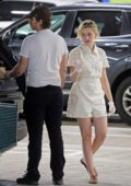 Julia Garner and husband Mark Foster stock up on groceries at Whole Foods in Studio City, California