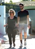 Julianne Hough and Ben Barnes step out together in Los Angeles