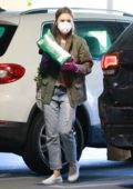 Lily Collins and boyfriend Charlie McDowell spotted during a quick grocery run in Los Angeles