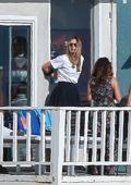 Maria Sharapova and boyfriend Alexander Gilkes visit friends amid social distance lockdown in Manhattan Beach, California