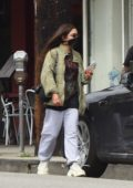 Vanessa Hudgens looks casual as she steps out to run errands in Los Angeles