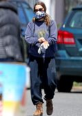 Drew Barrymore steps out for some shopping with her family in The Hamptons, New York