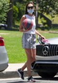 Gal Gadot enjoys a day out with her family at Coldwater Canyon Park in Beverly Hills, California