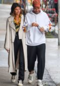 Georgia Fowler and boyfriend Nathan Dalah step out to grab some food in Sydney, California