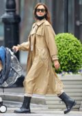 Irina Shayk puts on a stylish display while enjoying some time with her daughter n New York City