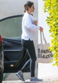 Lea Michele goes make-up free as she steps out with her mother in Los Angeles