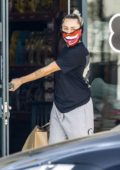 Miley Cyrus and Cody Simpson were seen picking up a dog bed and other supplies in Los Angeles