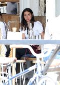 Ana de Armas meets up with her girlfriends for lunch at the Butcher's Daughter in Venice, California